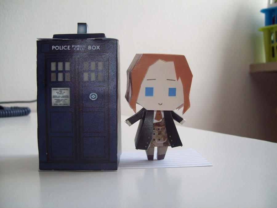 Doctor Who Paperdolls - 8 by Rabenstolz