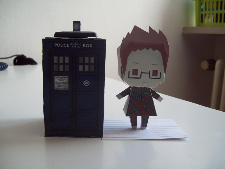 Doctor Who Paperdolls - 10 by Rabenstolz