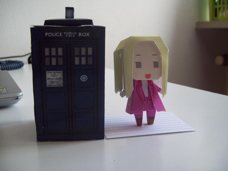 Doctor Who Paperdolls - Romana by Rabenstolz