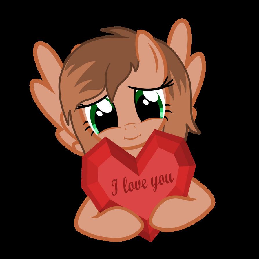 I Love You Kathrine by KathrineTheGamerPony