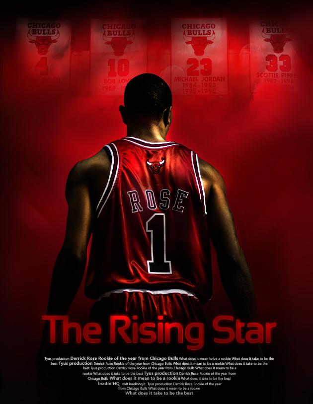 1c1fb66b130 Derrick Rose poster by rokasm on DeviantArt