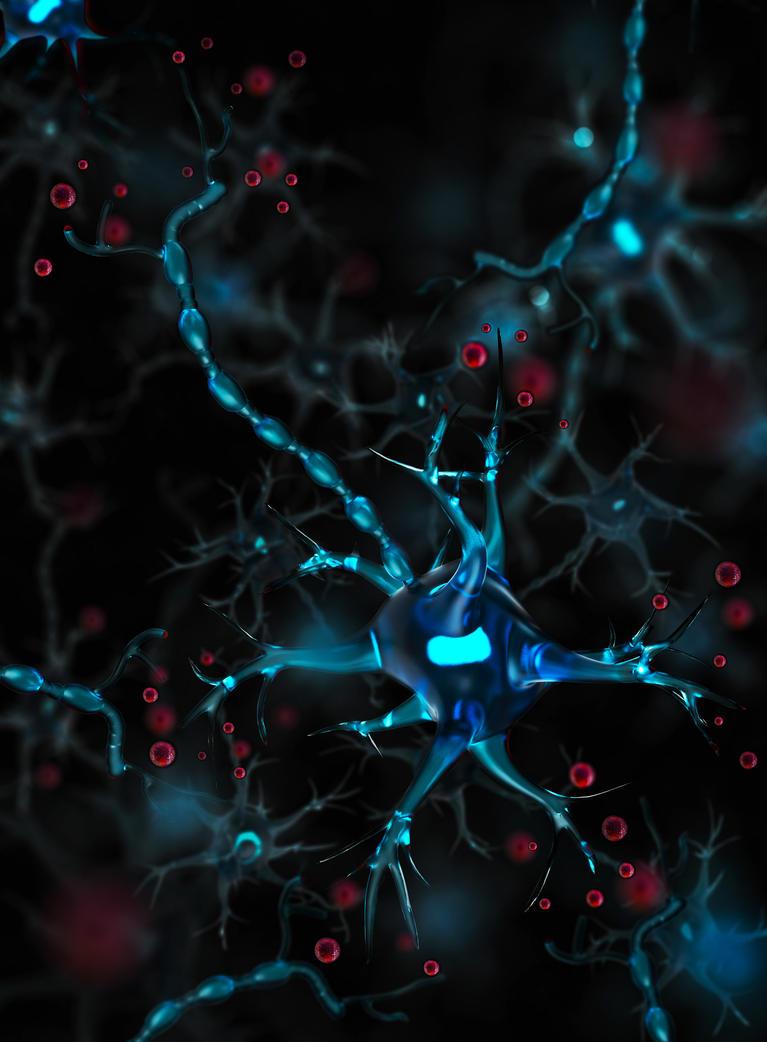 Neuronal Galaxy by altermind