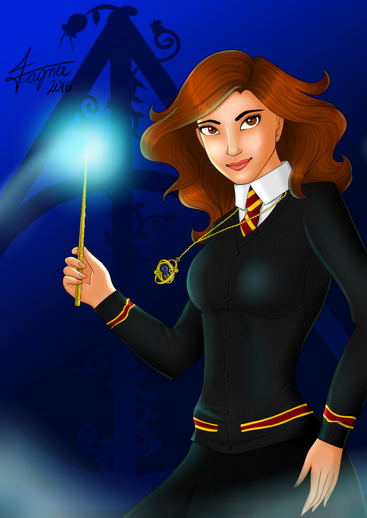 Hermione Granger by Fagner1994