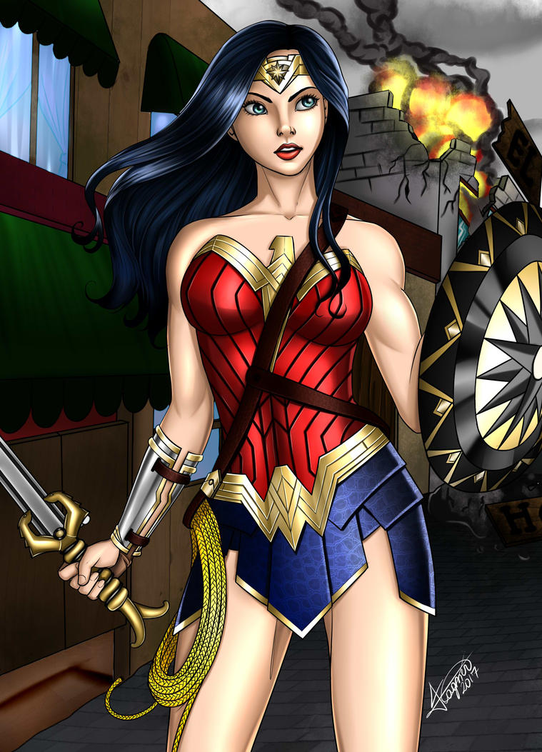 Wonder Woman by Fagner1994