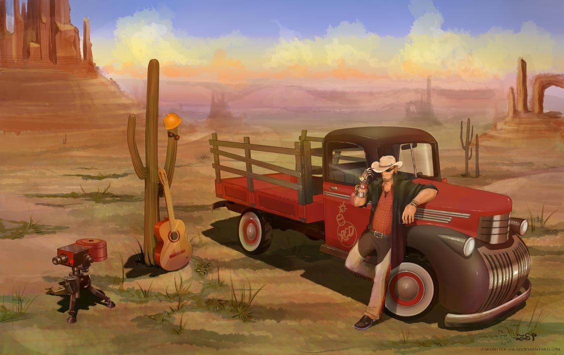 Trucker's Break by Zartbitter-Salat