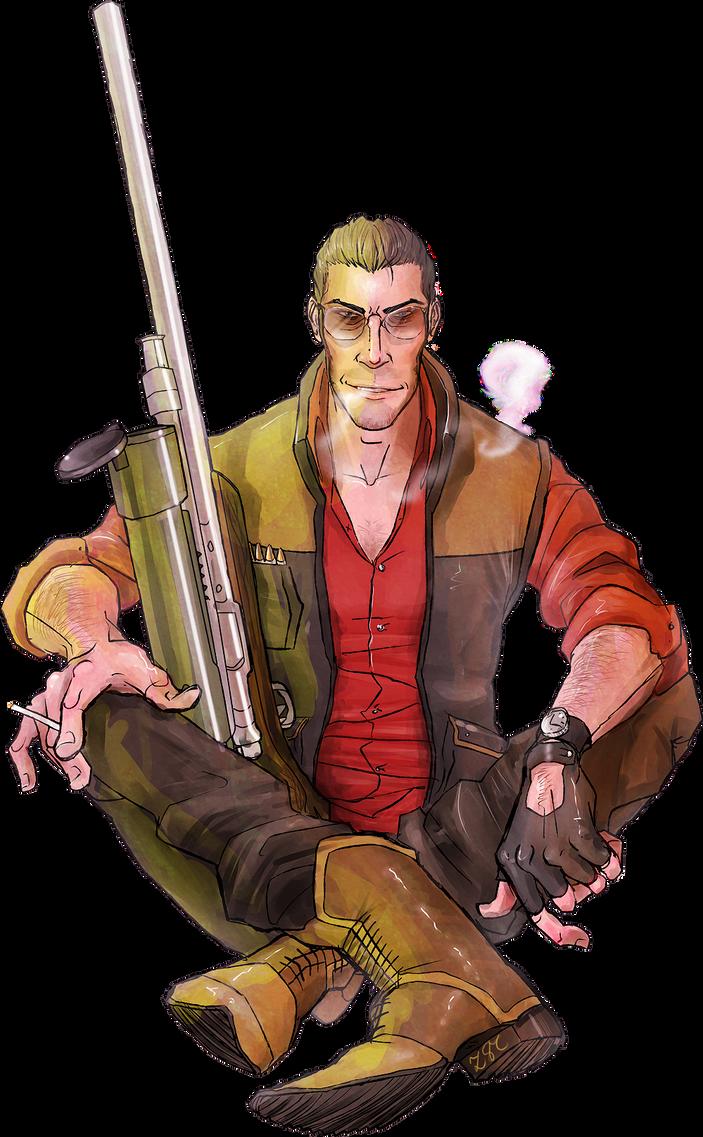 Sniper by Zartbitter-Salat