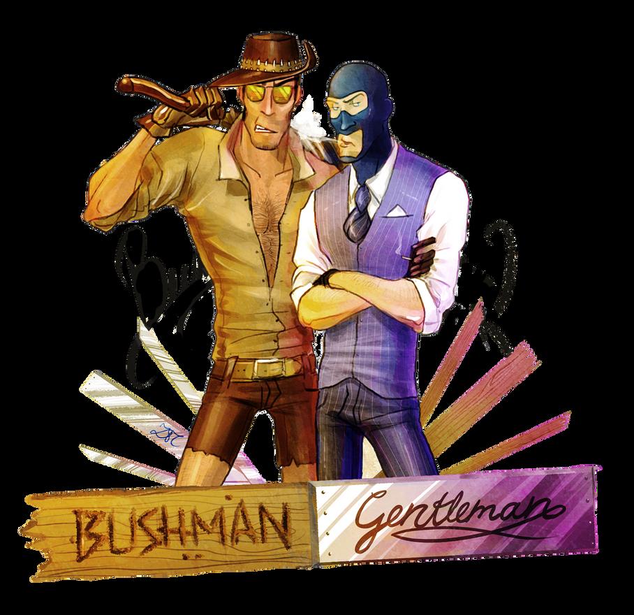 BushmanGentleman by Zartbitter-Salat
