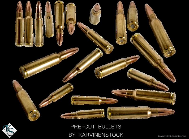 Bullets (Pre-cut Stock) by KarvinenStock