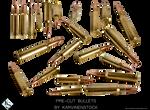 Bullets (Pre-cut Stock)