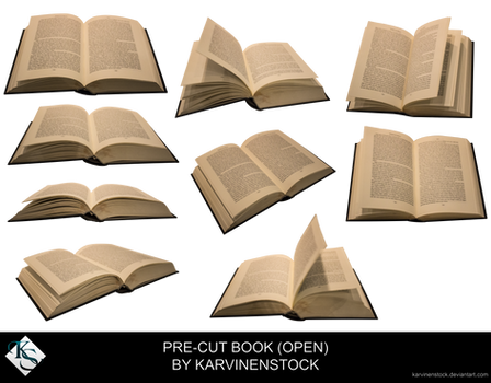 Open Book (Pre-cut Stock)