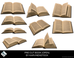 Open Book (Pre-cut Stock)