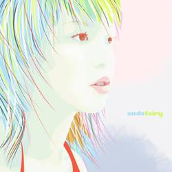 Mayuko Contemplative by andotsiry