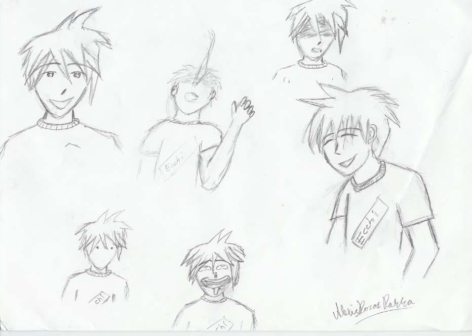 Birth of an Otaku character? by AmigaVIRUS