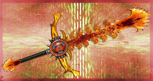 Elemental Blade: Fire by Unkn0wnfear