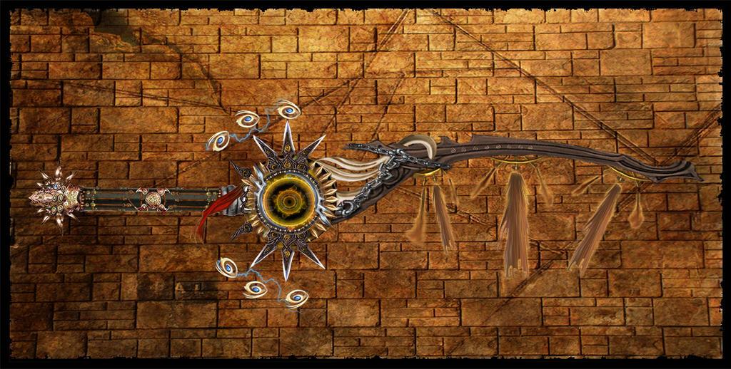 Elemental Blade: Sand by Unkn0wnfear