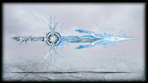 Elemental Blade Ice by Unkn0wnfear