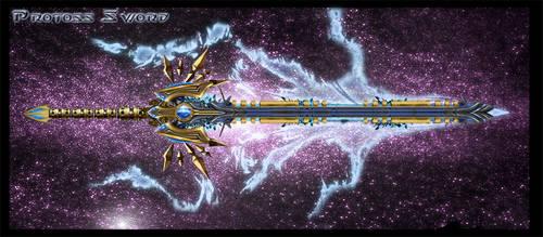 Protoss Sword by Unkn0wnfear