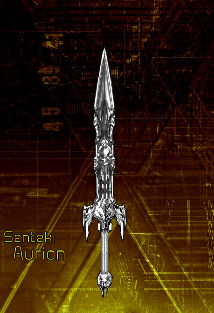 Sentek Aurion Drawing by Unkn0wnfear