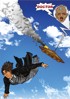 The Doctor Falling With Style by CosmicThunder
