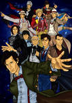 The 11 Doctors poster