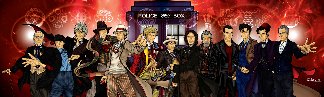 Doctor Who The 13 Incarnations by CosmicThunder