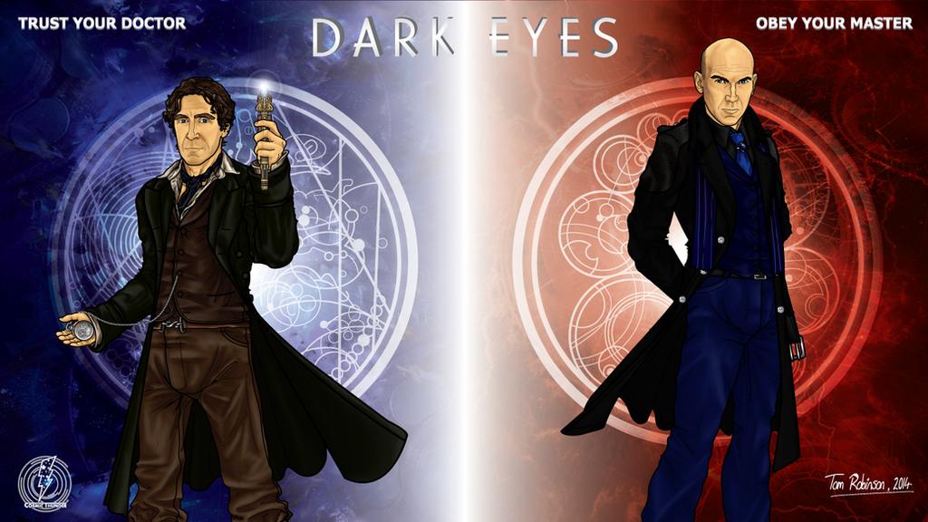 Dark Eyes by CosmicThunder