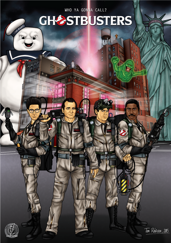 Ghostbusters by CosmicThunder