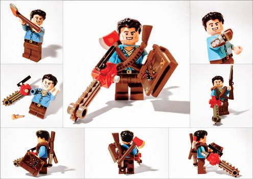 Evil Dead Lego Ash