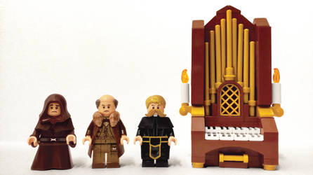 Lego Doctor Who The Monks