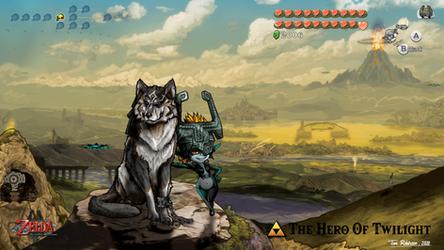 Legend Of Zelda - Wolf Link