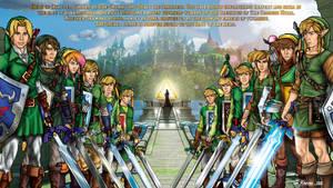 Legend Of Zelda - All The Links