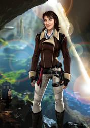 Doctor Who Bernice Summerfield by CosmicThunder