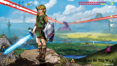 Legend Of Zelda Link - The Hero Of The Wild