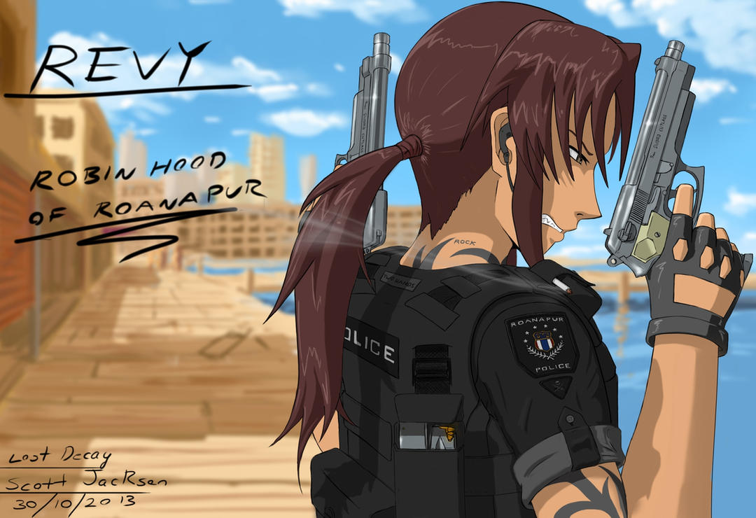 black lagoon rock and revy relationship advice