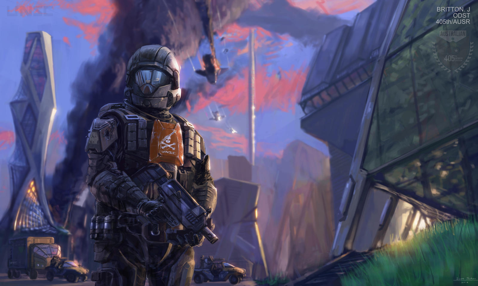 Halo 405th odst by lostdecay on deviantart - Halo odst images ...