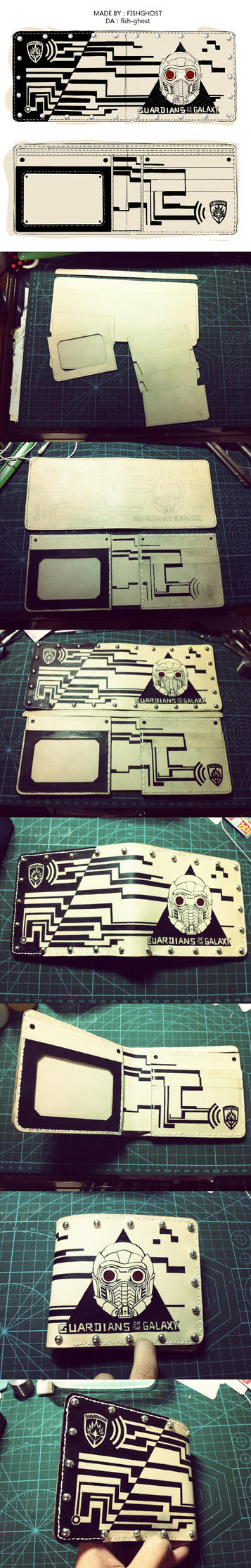 Guardians of the Galaxy wallet by fish-ghost