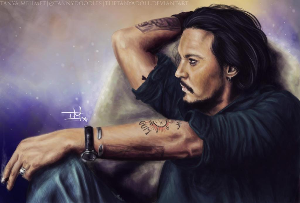 Johnny Depp Vanity Fair by TheTanyaDoll
