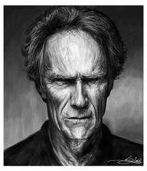 - Clint Eastwood - by Monkey-Jack