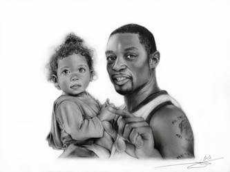 Rasheed Wright and his girl by Monkey-Jack
