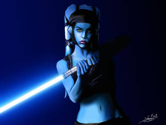 Aayla Secura by Monkey-Jack