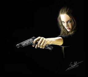 Wanted - Fox - Angelina Jolie by Monkey-Jack
