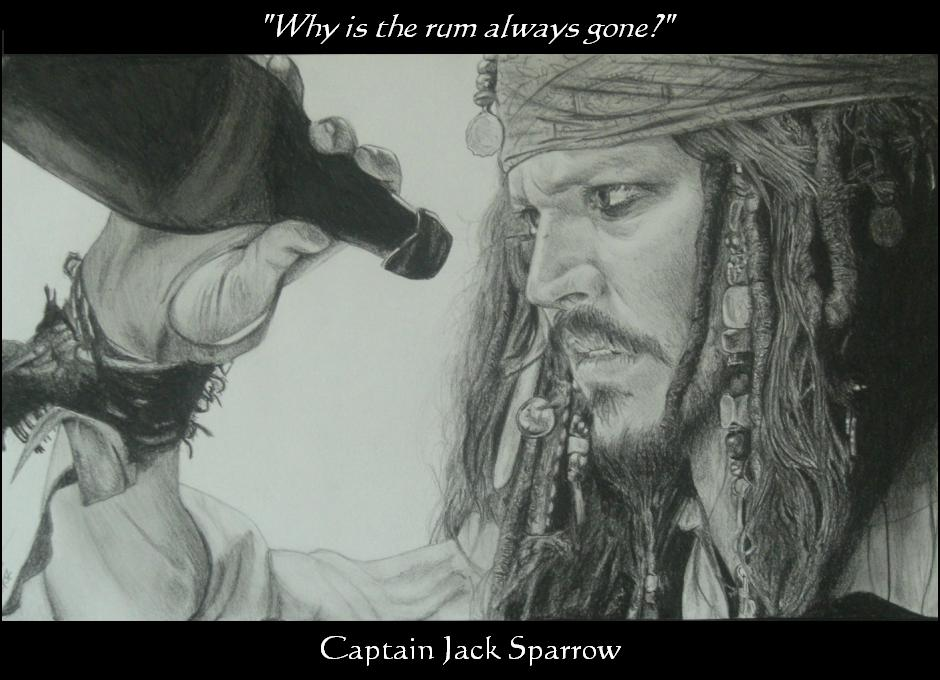 Why Is The Rum Gone Quote: Jack Sparrow And Rum By Monkey-Jack On DeviantArt