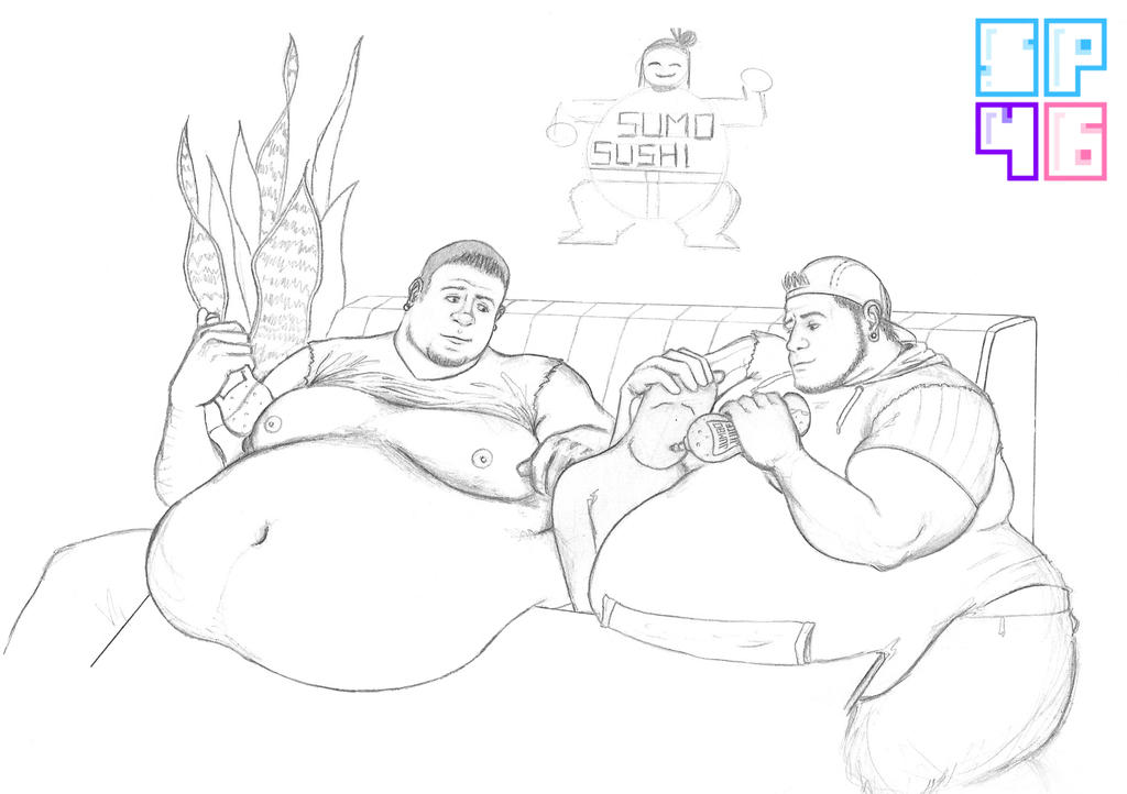 CONTEST: When Your Fat Friends Invite You To Sushi by spike4646