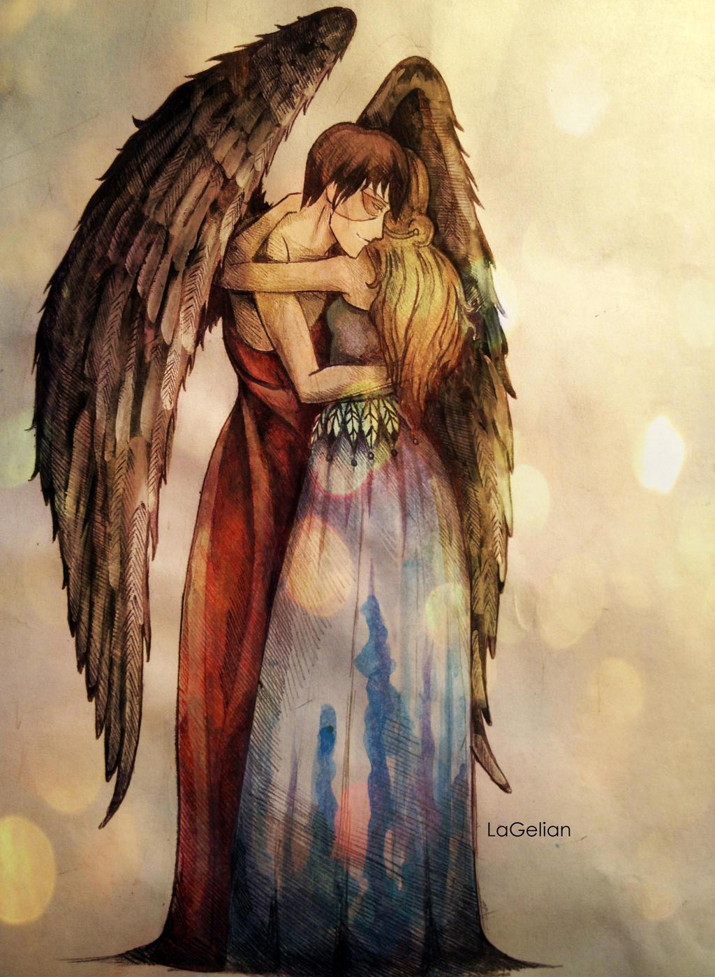 Your Guardian Angel by LaGelian on DeviantArt