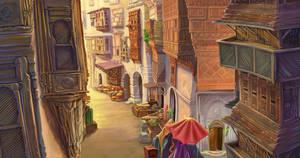 old arab street