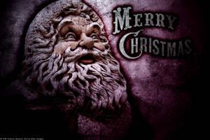 Creepy Christmas Wallpaper by RedAndWhiteDesigns