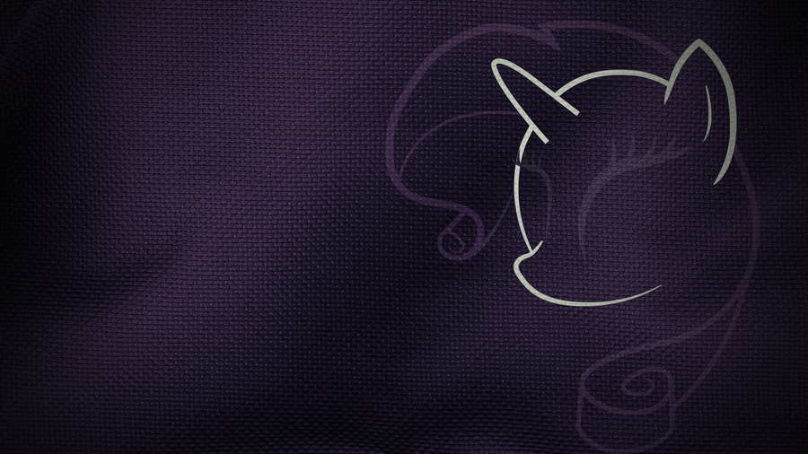 Rarity Cloth Wallpaper by Zoofie