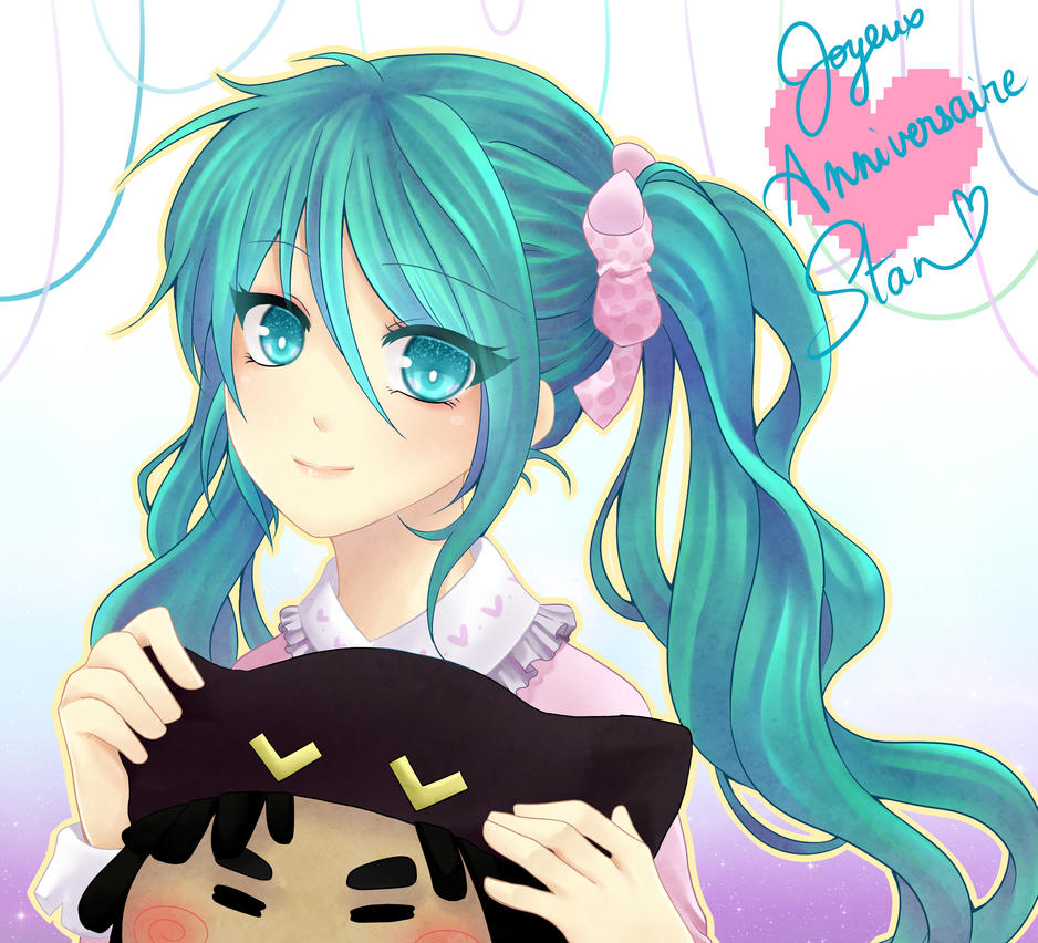 :..: Sweet Gift with Hatsune :..: by KeiJoke