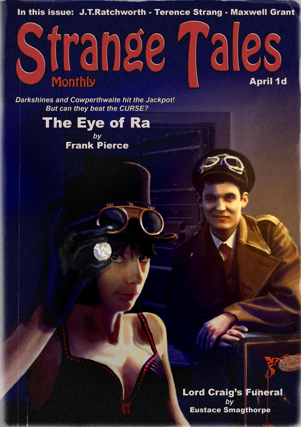 Strange Tales - The Eye of Ra by Smaggers