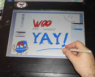 WooYay - DIY Cintiq upgrade by Smaggers